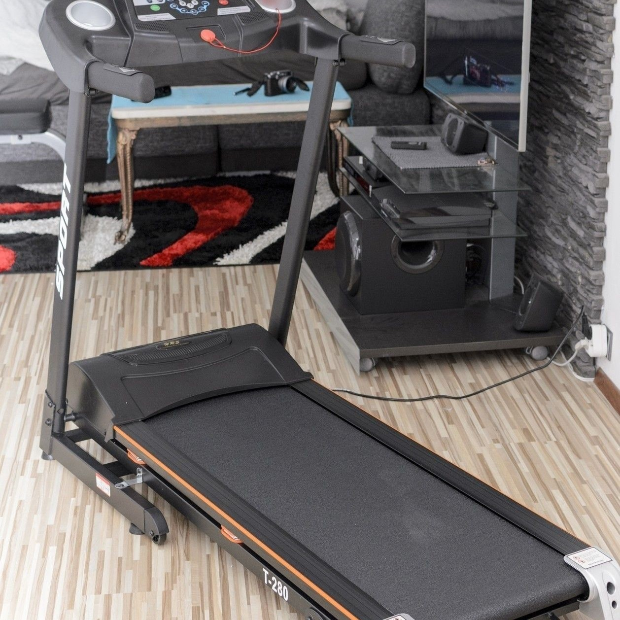 Bežecký pás elekt. HRS T-280 (do 130kg, šírka 42cm)