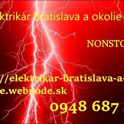 poruchová služba -elektrikár Bratislava a okolie